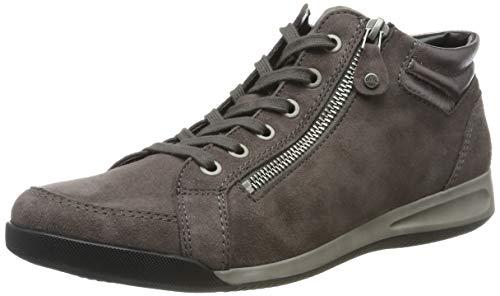 ARA Damen ROM 1244407 Hohe Sneaker, Grau (Street 11), 39 EU