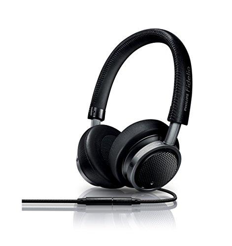 Philips M1MK11BK Fidelio Headphones with Microphone (Black)