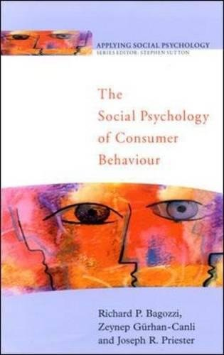 society psychology and the propensity of consumers to purchase famous brands essay The goal of psychology is aimed at helping society at large by addressing the variety of needs and differences in individuals that make up that society this is done through research, experimentation, and the development of theories and principles of how to help people understand themselves.