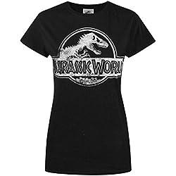 Mujeres - Official - Jurassic World - Camiseta (L)