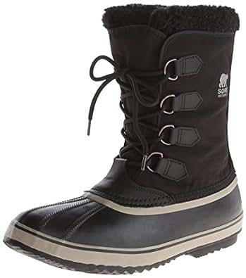 Sorel 1964 Pac Nylon, Men Snow Boots, Black (Black, Tusk 011), 12 UK (46 EU)