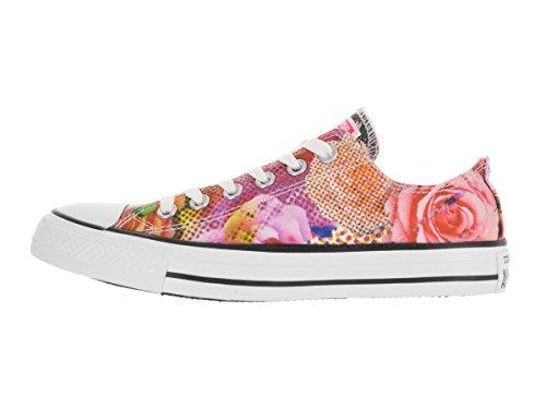 Converse Womens Digital Floral Print Ox Textile Trainers Floral