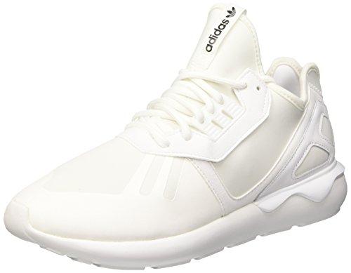 adidas Tubular Runner, Herren Sneakers, Weiß (Ftwr White/Ftwr White/Core Black), 43 1/3 EU (9 Herren UK)