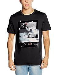 JACK & JONES Herren T-Shirt Jcotanguy Tee Ss Crew Neck