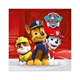 Procos Q57205 Paw Patrol Party Paper Lunch Napkins (20 Pack)