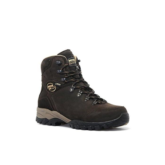 Ladies wide fit leather walking boot GoreTex Meindl Meran Lady GTX