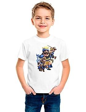 Camiseta niño dibujo royale (Talla 5/6)