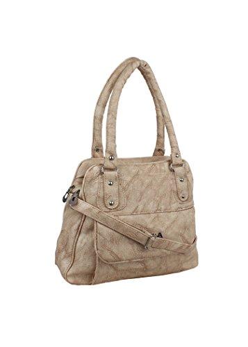 Ritupal Collection Women\'s shoulder handbag PU (Beige)