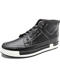 wholesale dealer 9d624 9702d WZG Los zapatos de los hombres de encaje cálido y terciopelo de los hombres  de Martin