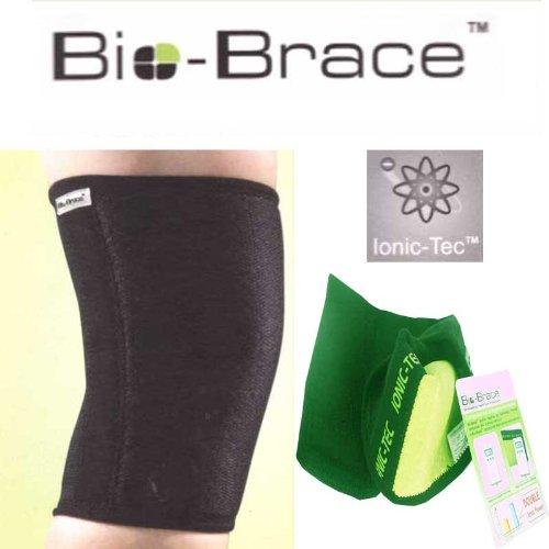 Bio-Brace Kniebandage, Größe L, Ionic-Tec (negative Ionen mit doppelter Leistung)