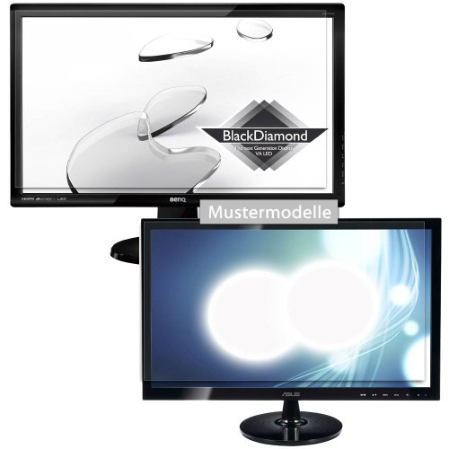 easy-top Anti-Shock Displayschutzfolie CrystalClear Schutz Folie für BenQ GW2765HT