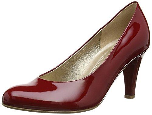 Gabor Damen Pumps Rot (Cherry Patent)