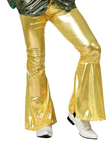 ATOSA 13252 Disco Hose, Herren, Gold, Einheitsgröße