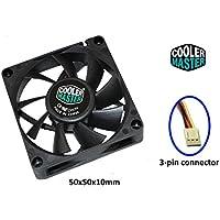 Cooler Master, CPU und Gehäuse-Lüfter, Fan 50x50x10mm (2 Stück)