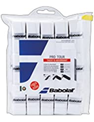 Babolat over Grip Pro Tour X30de 30Unidades, color blanco, One size, 657002–101