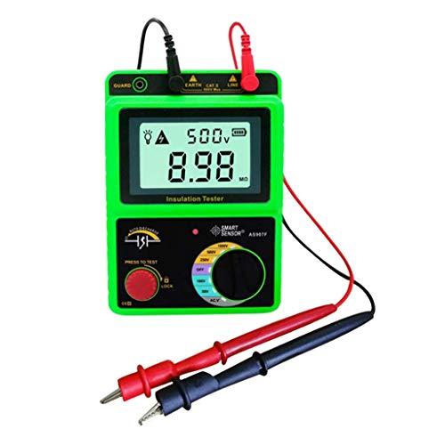 Tubayia 1000V Digital Isolationswiderstand Tester Meter Widerstandsmessgeräte mit LCD-Anzeigen