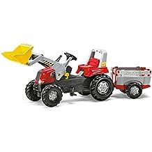 rolly toys Tractor con remolque para niños Junior RT (811397)