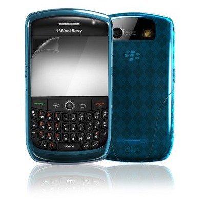 iSkin Vibes FX Schutzhülle für Blackberry Curve 8900, Wave Light Blue Iskin Vibes Für Blackberry