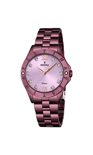Festina Women's Digital Quartz Watch with Stainless Steel Strap F16928/A