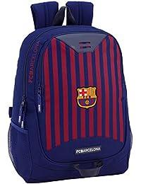 FC Barcelona 611829665 2018 Mochila Escolar, 44 cm, Azul