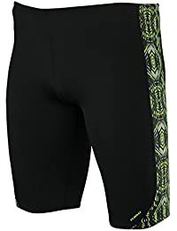 Maru Mens Pacer Jammer Swimsuit – Black/Yellow