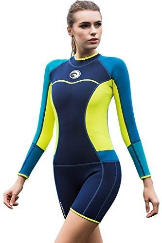 Neoprenanzug Damen Shorty 1.5MM Surfanzug Tauchanzug Wassersport