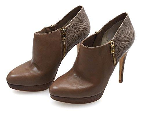 Michael Kors Woman Ankle Boot Dark Code York Bootie 40T3YOHE6L 10M (EU 40) Fango Scuro - Dark MUD