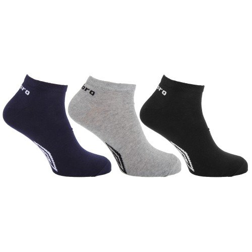 Umbro Calcetines de entrenamiento Modelo Design Hombre Caballero (Pack de 3)
