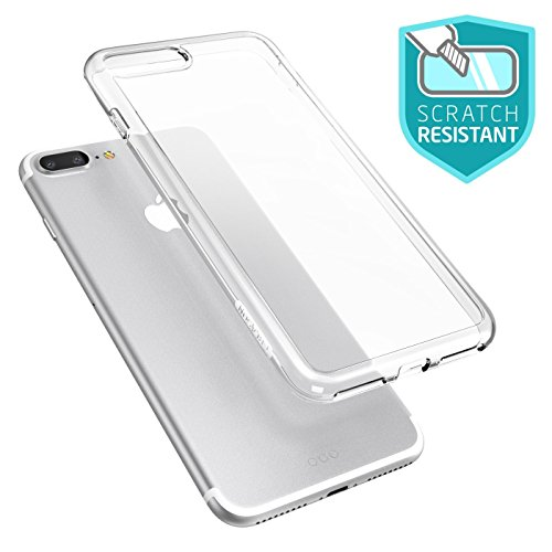 iPhone 7 Plus Hülle, iPhone 8 Plus Hülle, i-Blason [Halo Serie] Schutzhülle Kratzfest Clear Case Cover für Apple iPhone 7 Plus / iPhone 8 Plus (Klar) Klar