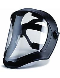 Uvex by Sperian 763-S8510 Bionic Black Matt Faceshield Klar PC-Objektiv