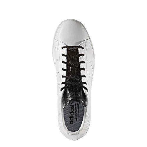 adidas Originals Stan Smith Cuir véritable pour hommes Chaussures de sport blanches S80019 000 FTWWHT/FTWWHT/CBLACK