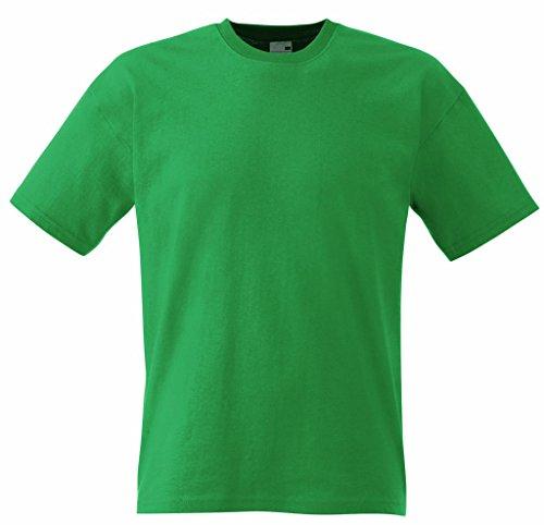 Fruit of the Loom Herren Original Full Cut T-Shirt Kelly Green