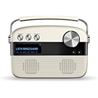Saregama Carvaan SKU-R20008/R20003 (SC01/SC03) Portable Digital Music Player (Porcelain White)