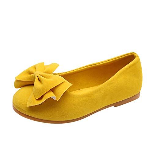 Mitlfuny Niños Zapatos Primavera Verano Moda Arco Fiesta Princesa Zapato para bebé Niñas Antideslizantes...