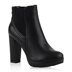 * Geschlecht Damen* Schuhe Stiefeletten* Schuh (Modell) Ankle Boots* Jahreszeit Frühling, Herbst* Fütterung (Futterstärke) Nicht gefüttert* Fütterung (durchgehend) Nein* Obermaterial Synthetik in hochwertiger Leder-Optik* Innenmaterial Synthetik in h...