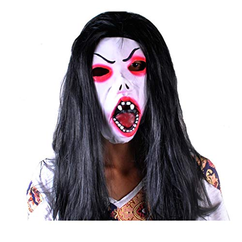 Kostüm Zum Beängstigend Verkauf - DYHOZZ Halloween Kostüm Party Latex Kopf Maske, Halloween Horror Maske/Maske Cosplay