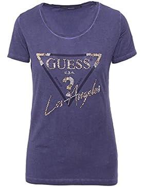 GUESS SS RN Los Angeles Tee, Camiseta Para Mujer