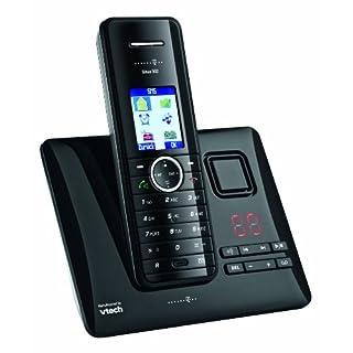 Deutsche Telekom T-Home Telefon Sinus A502 Schnurlostelefon mit Anruferkennung und Anrufbeantworter silber/schwarz