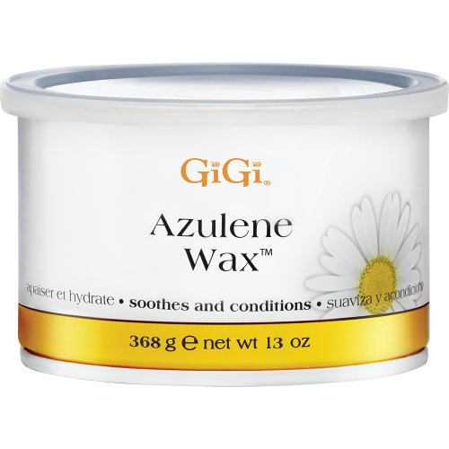 Gigi Wachs-kits (GiGi Azulene Wax Soothes and Conditions All Skin Types 368g)