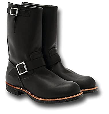 Red Wing 2990 Engineer Motorcycle Boots, black (7)