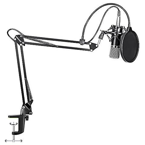 Bras De Suspension - Neewer® nw-700Studio professionnel radiodiffusion Microphone à condensateur