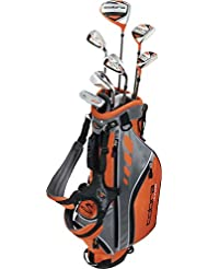 "Cobra Golf Jr. Kids Complete Set LH 46""-52"", Golfschläger für Kinder von 116cm -134cm, linkshand, left handed, Driver, 3 wood/holz, 5 Hybrid, 7, 9, Sand Wedge, Putter, Bag, perfect golf clubs for your kid/juniors from 9-12 years, ideale Golfschläger für Kinder und Jugendliche"