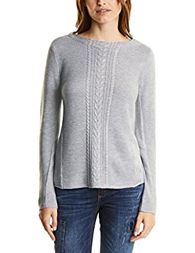 Street One Pullover with Cable Structure Mix, Suéter para Mujer