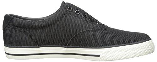 Polo Ralph Lauren Vito Pique Nylon Fashion Sneaker Black