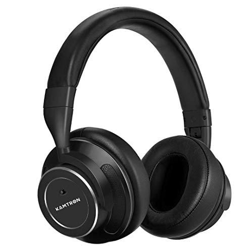 Cuffie Bluetooth con Riduzione del Rumore OVER-EAR Wirless con Annullamento  Attivo del Rumore e c7b8615b74c1