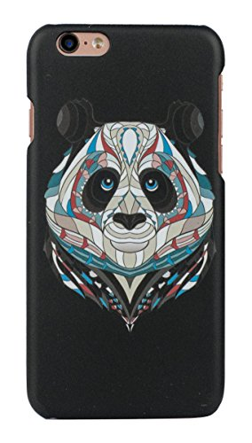 Sun Mobisys Apple Iphone 6 And Apple Iphone 6S ; Touch Feel Embossed Printed Back Case- Panda