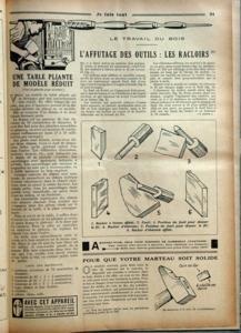JE FAIS TOUT N? 162 du 18-05-1932 revue des metiers une table pliante de modele reduit - la construction d'un cadre de t.s.f. - le moulage au trousseau - la mise au point des agrandissements photos - la realisation d'un tennis - concours du jouet mecanique - affutage des outils - installation d'un comteur electrique - les artisans et le syndicalism