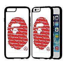 big sale 28add 56a2f Bape x supreme iphone case iphone 6 plus case or i the best Amazon ...