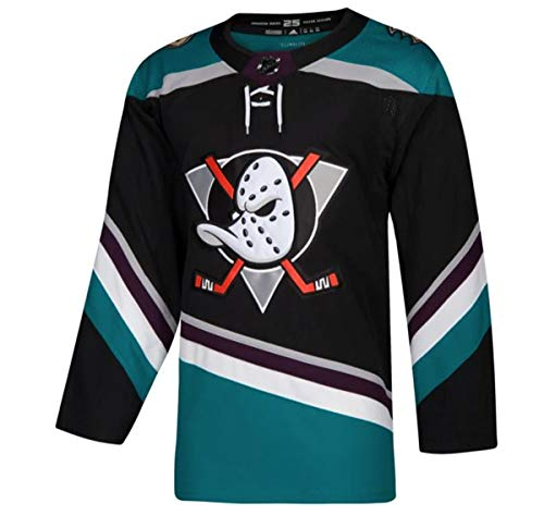 4269ed1b097 adidas Ducks d'Anaheim NHL pour Homme Climalite Authentique Alternate Hockey  Jersey, Homme,
