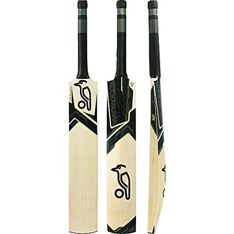 Kookaburra Blade 1000Bate de Cricket, Mango Corto, color negro